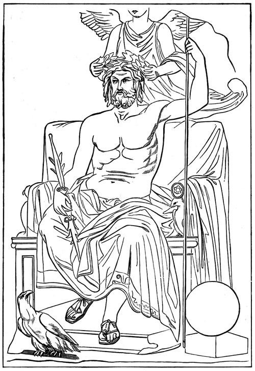 ancient rome gods coloring pages - photo#20
